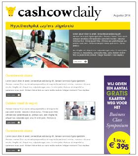 Nieuwsbrief CashcowDaily