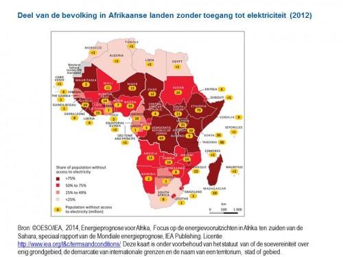 Stroomtekort Afrika biedt potentie