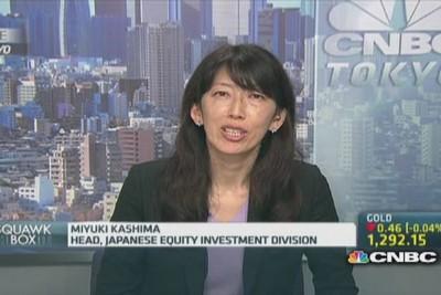 Miyuki Kashima (BNY Mellon): 'Abe is niet bang'