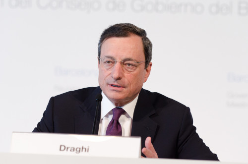 Draghi weer in control
