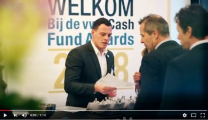 Sfeerimpressie vwd Cash Fund Awards 2018