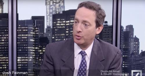 Josh Feinman (DWS): 'Economie niet in de problemen door financiële klimaat'