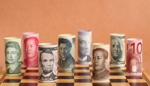 Handelen in euro's, dollars, ponden en andere valuta