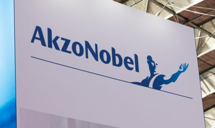 Sterke steun AkzoNobel op 72,50 euro