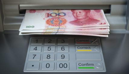 Overmoedige doorbraak yuan
