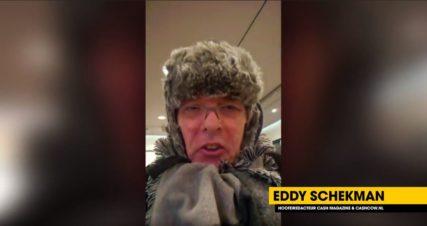 Eddy vlogt: 'Altijd voorbereid op de kou'