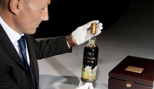 €1,4 miljoen voor één fles. Is dat nou beleggen in whisky?