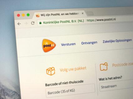 PostNL flink lager