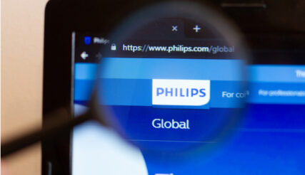 Mooie koerssprong Philips