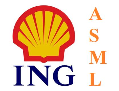 Nederlandse beleggers kiezen voor RD Shell, ING en ASML