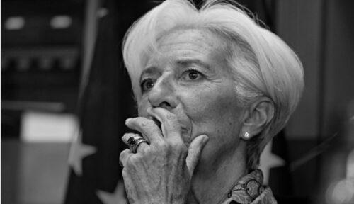 ECB-Lagarde moet kiezen: staatsbank of deflatie