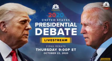 Watch debat Biden - Trump