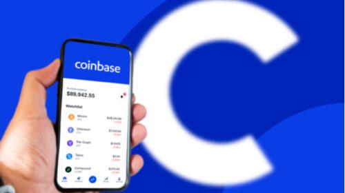 Knallend debuut Coinbase
