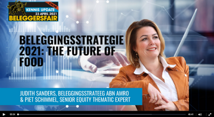 Masterclass ABN Amro: The future of Food