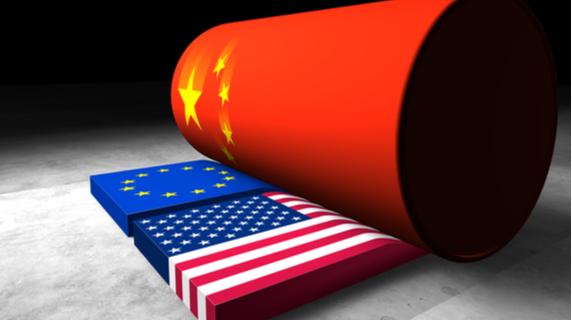 China walst over Europa en VS (beurstechnisch)